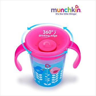 Copo Aprendizagem Miracle® 360 Deco Pássaro Munchkin
