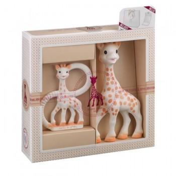 Sophie La Girafe Conjunto Prenda Girafa+Anel Dentição 000001