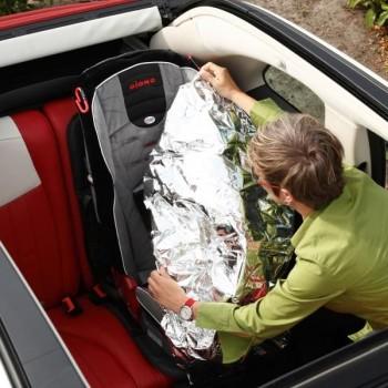 Diono Protector Assento Automóvel Ultra Mat Deluxe com Capa Anti-Calor