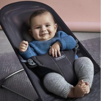 BabyBjörn Espreguiçadeira Bliss Air Antracite 006013
