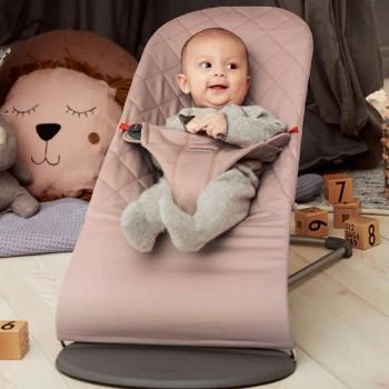 BabyBjörn Espreguiçadeira Bliss Algodão Rosa 006014