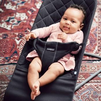 Espreguiçadeira Bliss BabyBjörn Algodão Antracite 006021