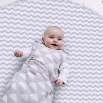 Snuz Tapete Playmat Grey Stripes AC010B