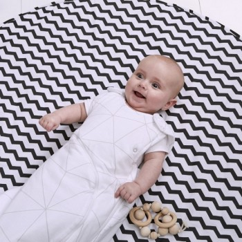 Snuz Tapete Playmat Black Stripes AC010C