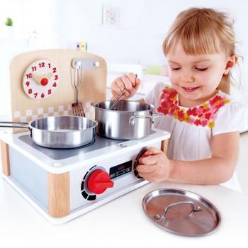 Hape Conjunto de Mini Cozinha e Utensílios +3 Anos E3151