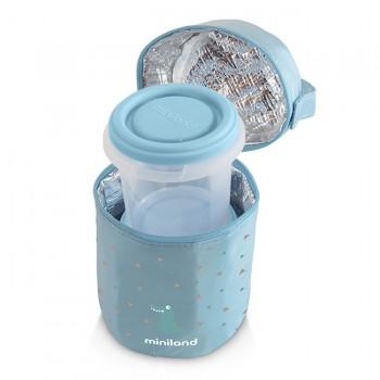Miniland 2 Recipientes Herméticos 250ml Azul 89246