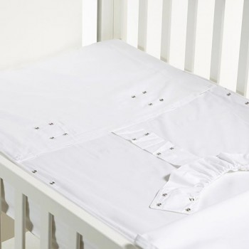 B-MUM Safety Baby Bed 50x80 Lacinho Cinza S17PVCP*