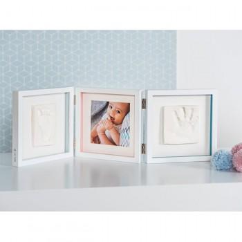 Baby Art Moldura My Baby Style Double Frame Branco