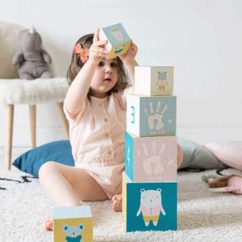 Baby Art Brinquedo Cubo de Actividades Personalizável +0M