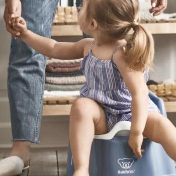 BabyBjörn Bacio Cadeira Azul Profundo/Branco 055269