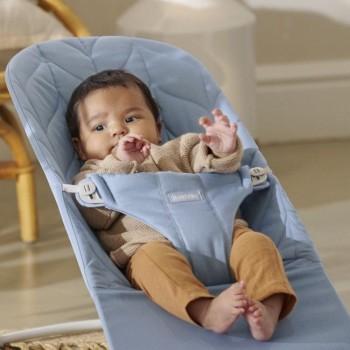 BabyBjörn Espreguiçadeira Bliss Algodão Pétala Azul 006123