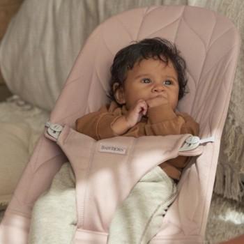 BabyBjörn Espreguiçadeira Bliss Algodão Pétala Rosa Claro 006122