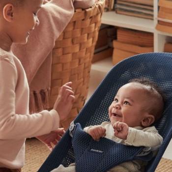 BabyBjörn Espreguiçadeira Bliss Mesh Azul Marinho 006003
