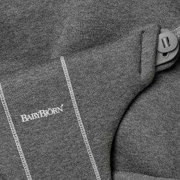 BabyBjörn Forra Espreguiçadeira Bliss Charcoal Grey 3D Jersey 012076