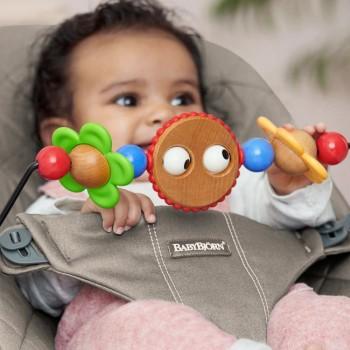 BabyBjörn Pack Espreguiçadeira Bliss Cinza Areia 606017