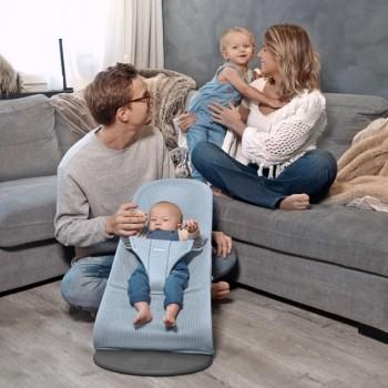BabyBjörn Espreguiçadeira Bliss Mesh Azul Celeste 006043