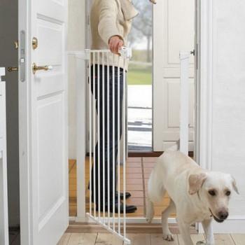 Barreira Alta Cães e Crianças Branca Baby Dan