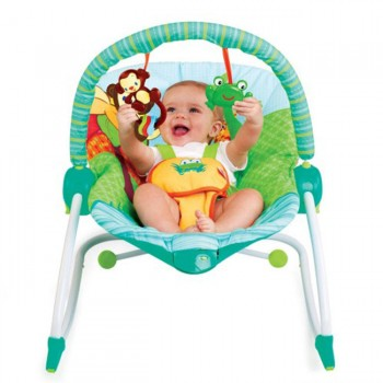 Bright Starts Espreguiçadeira Rocker Jungle BS60127