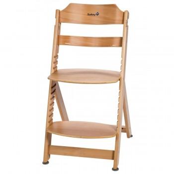 Safety First Cadeira de Refeição Timba Natural Wood 27620100