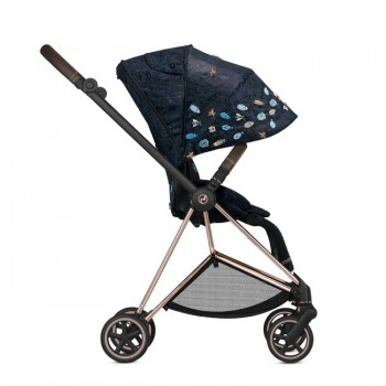 Cybex MIOS Chassi Rose Gold + Seat Pack Jewels of Nature