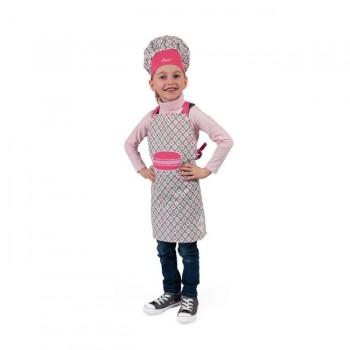 Janod Avental de Tecido e Chapéu de Cozinheiro +3 Anos J06582