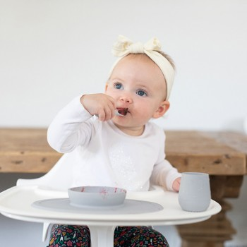 ezpz Primeiro Conjunto de Alimentação Cinza Nórdico EUFFP003