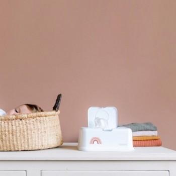 FunkyBox Caixa Toalhetes Branca Arco-Íris Rosa FB50