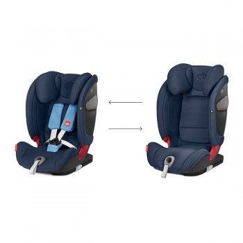GB Cadeira-Auto EVERNA-FIX 1-2-3 Sweet Pink 619000345