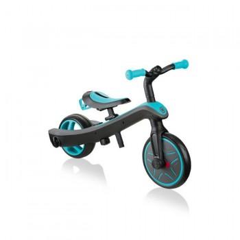 Globber Triciclo Explorer 2 em 1 Teal +2 Anos GL630105