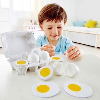 Hape Caixa de Ovos para Brincar +3 Anos E3156