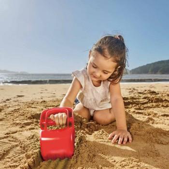 Hape Pá Escavadora de Praia Vermelho +18M E4072