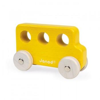 Janod Autocarro Amarelo Sweet Cocoon +18M J04413