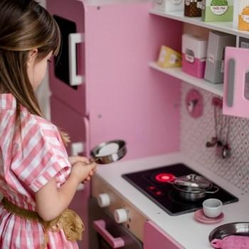 Janod Cozinha Maxi Macaron em Madeira +3 Anos J06571