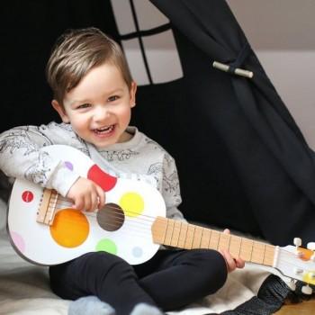 Janod Ukelele Confetti em Madeira +3 Anos J07597