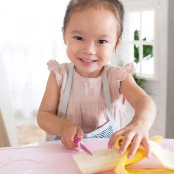 KiddiKutter Faca para Crianças Rosa
