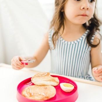Kizingo 2 Pratos para Crianças Nudge Lagoon + Raspberry KNP-033