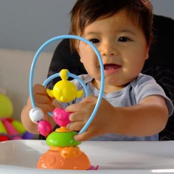 Lamaze Brinquedo p/ Cadeira Papa Balão Ar Quente Divertido +3M L27199