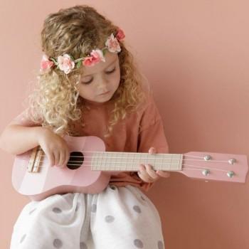 Little Dutch Guitarra em Madeira Rosa +3 Anos LD7014