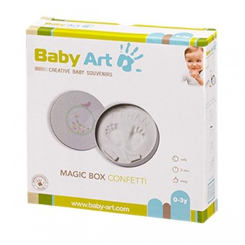 Magic Box Confetti Baby Art