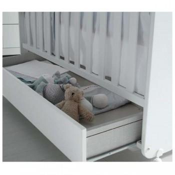 Micuna Gaveta de Berço Luxe Branca 120 x 60