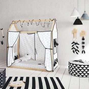 Micuna Tipi House com Têxtil Casa Claire 140x70