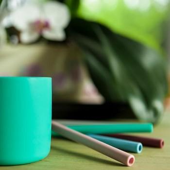 Minikoioi Palha em Silicone Verde com Escova 2 Uni 261101110005