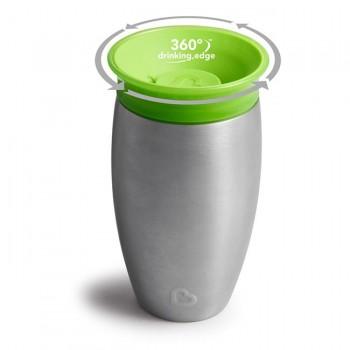 Munchkin Copo Miracle 360º Aço Inox Verde