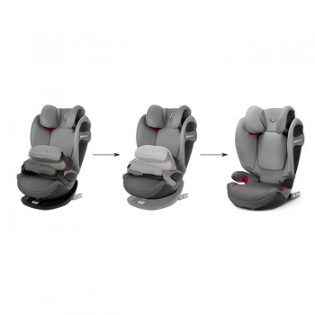 Cybex Cadeira-Auto PALLAS S-Fix Racing Red Ferrari