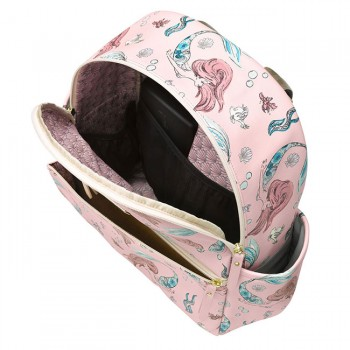 Petunia Pickle Bottom Mochila Ace Pequena Sereia PEACDS61100