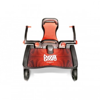 Lascal Patim Buggy Board Maxi + Assento Preto/Cinza 11041