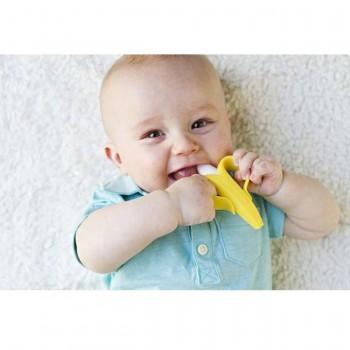Baby Banana Mordedor e Escova de Dentes Infantil BR003