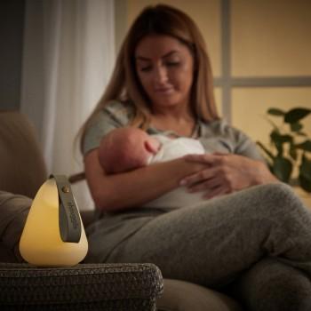 Shnuggle Luz de Presença com Indicador de Temperatura SHN-MOON