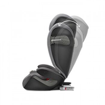 Cybex Cadeira-Auto SOLUTION S-FIX Lavastone Black