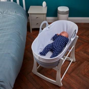 Tommee Tippee Alcofa de Bebé Portátil Sleepee com Suporte Cinzento